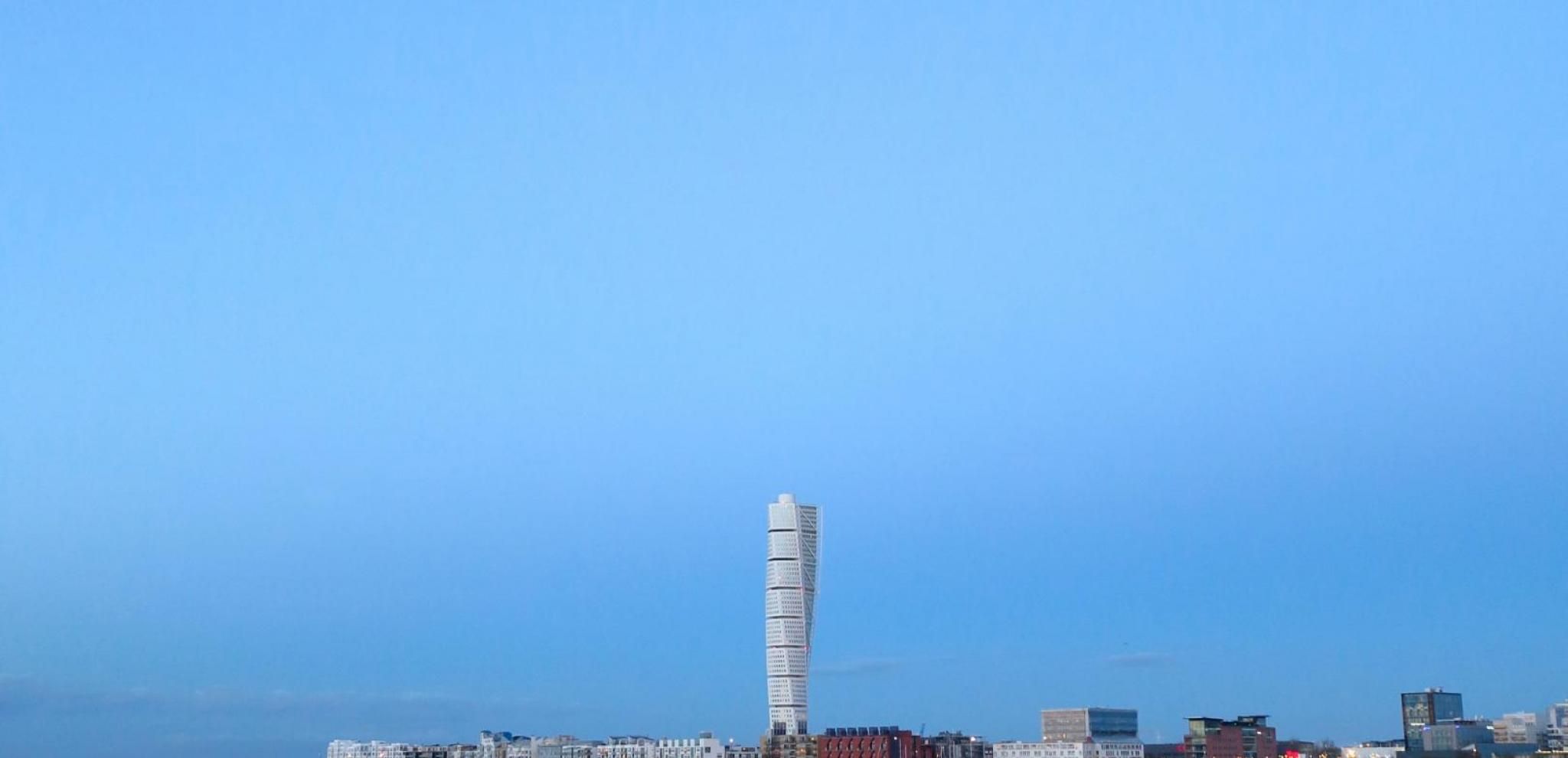 Turning Torso and Västra hamnen