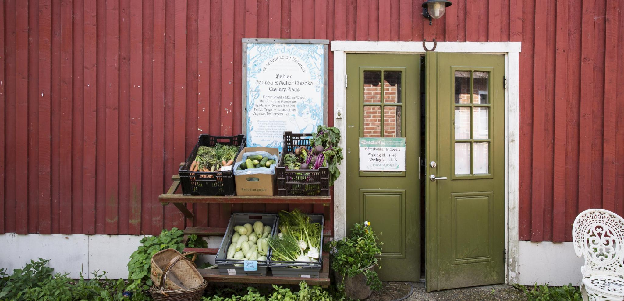 Mossagården farm shop