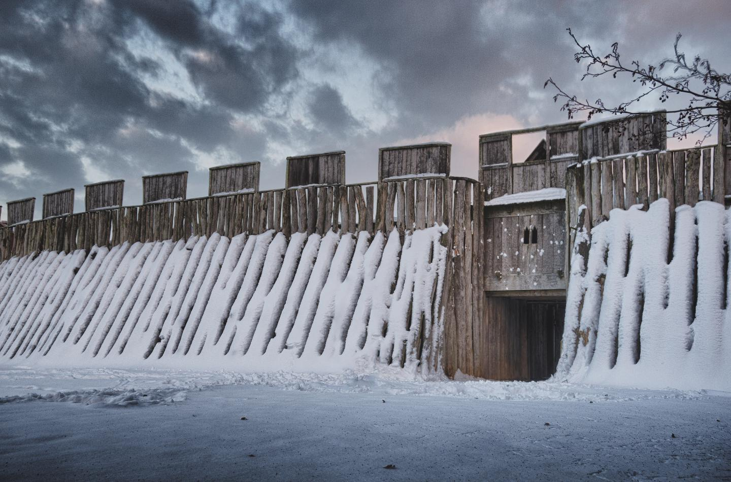 the trelleborgen viking fort