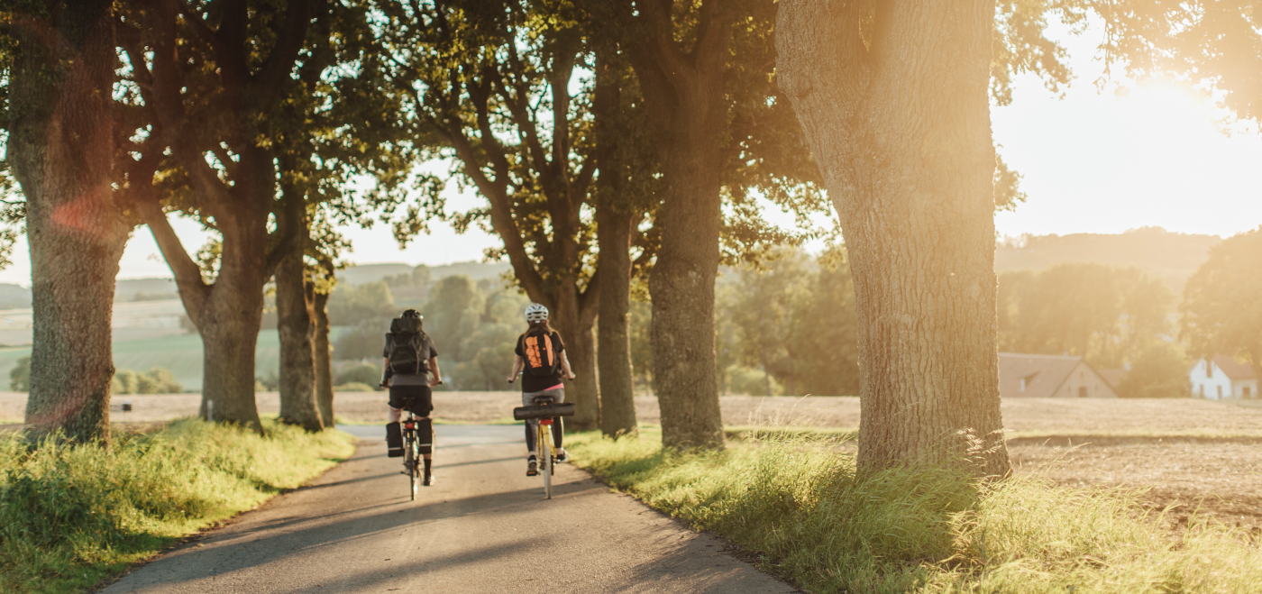 Biking in south Sweden