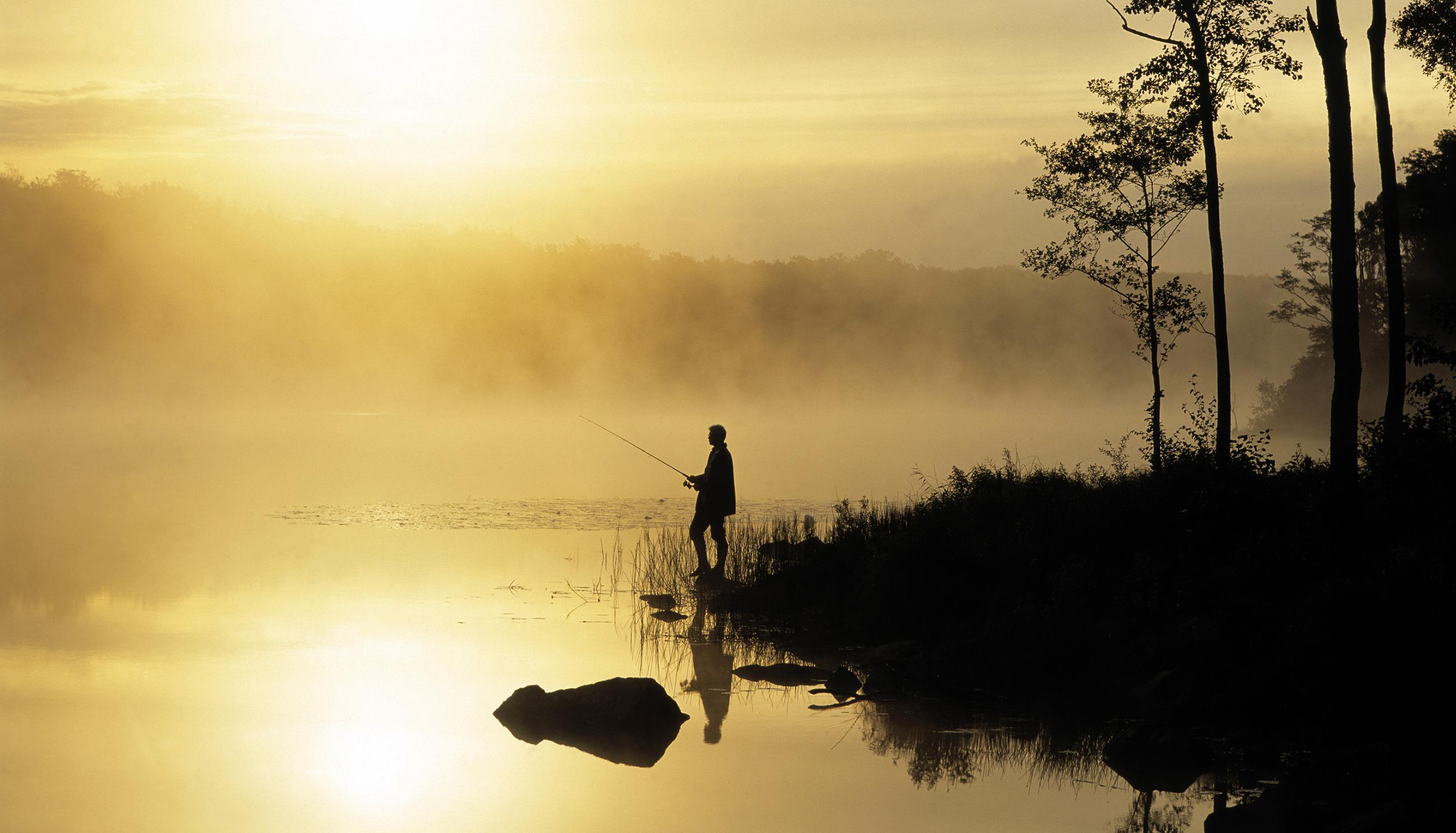 Skåne has many lakes offering excellent fishing for the whole family.